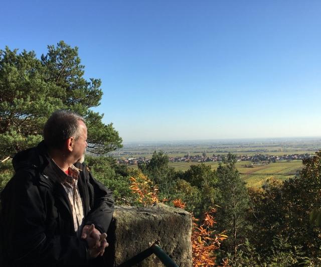 Blick über die schöne Südpfalz (c) Ina Heck