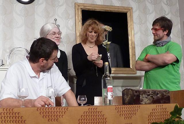 Korngeister bei den Theaterfreunden Herrenzimmern