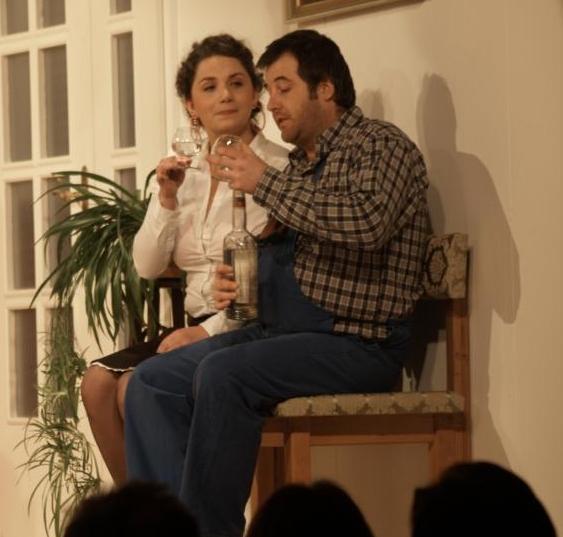 Korngeister beim Theater Schönau