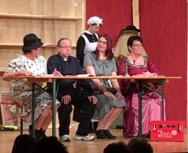 """Aufführung im Mundarttheater Darmsheim """"Dieses mal was mit Niveau!"""""""