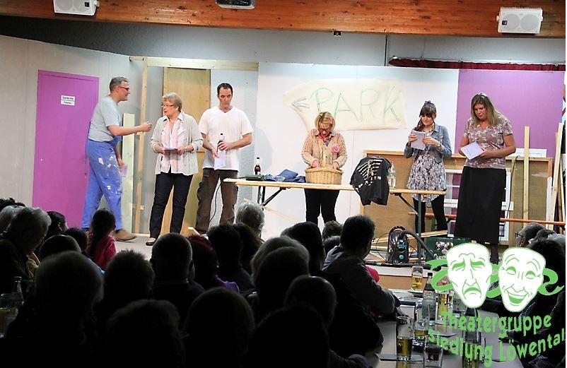 Dieses mal was mit Niveau - Theatergruppe Siedlung Löwental - Copyright Herr Wunibald Wösle
