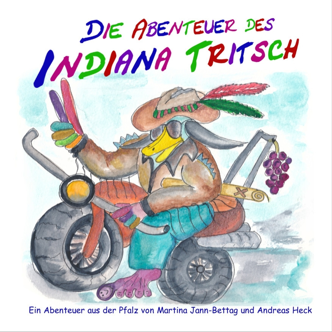 """Einband von """"Die Abenteuer des Indiana Tritsch"""""""