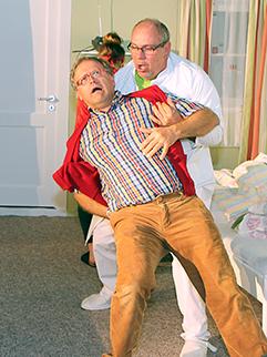 """Aufführung """"War das eine Wehe Liebling?"""" beim """"s'Greuther Theater"""" Kirchhaslach"""