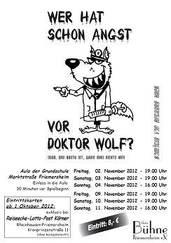 Plakat der kleinen Bühne Friemersheim