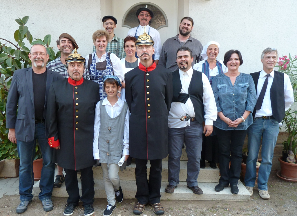 Theatergruppe Kultur- und Heimatverein Harthausen 2013