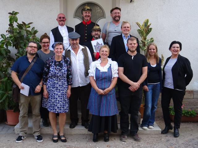 Theatergruppe des Kultur- und Heimatvereins Harthausen 2018
