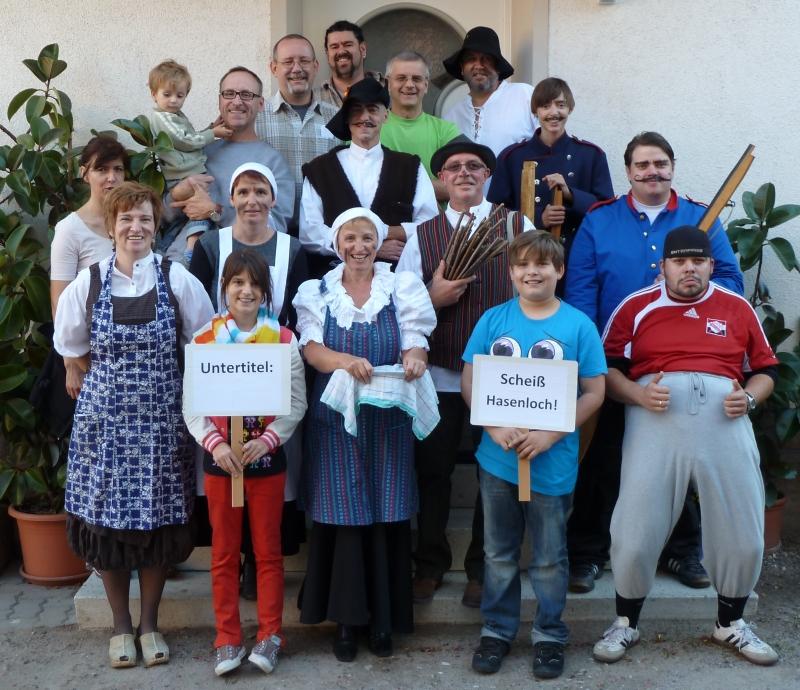 Theatergruppe des KHV Harthausen 2011