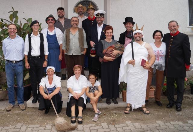 Theatergruppe des Kultur- und Heimatvereins Harthausen 2014