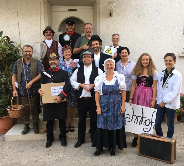 THeatergruppe des Kultur- und Heimatvereins Harthausen 2016 - Der Mäusefänger
